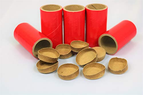 75 Thick WALLED SALUTE Firework Tubes Shells 1