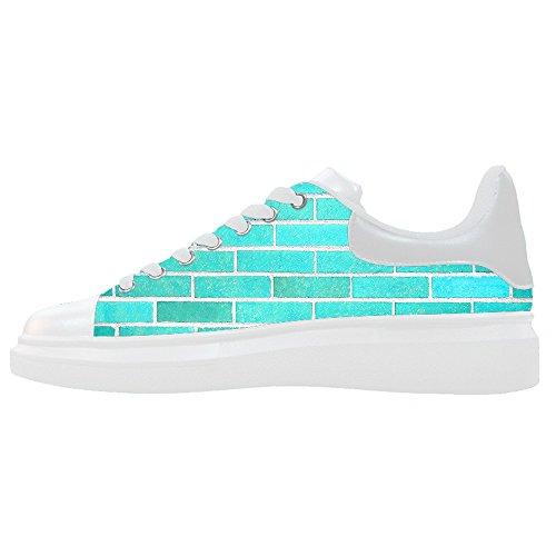 Scarpe Scarpe Canvas Muro Del Women's Struttura Shoes Mattoni Custom Di Le xOz6vYqnwF