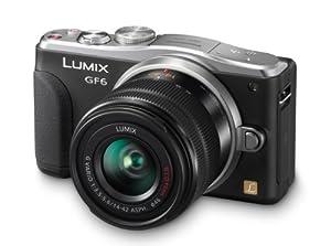 Panasonic DMC-GF6KK 16MP Mirrorless Mirrorless Digital Camera with Lens Kit