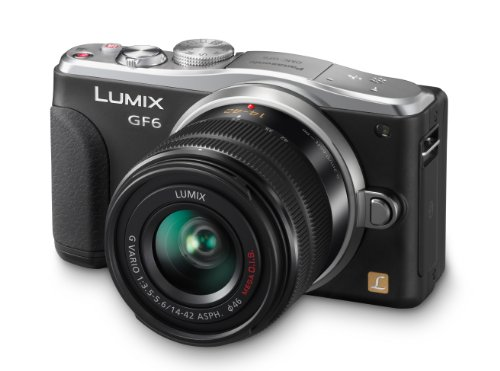 Panasonic DMC GF6KK Mirrorless Digital Camera