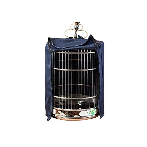 MOAAA Breathable Bird Parrot Nests Cover Cotton Bird Cage Light Proof Cover Universal Bird Supplies Thrush Cage Cover,S