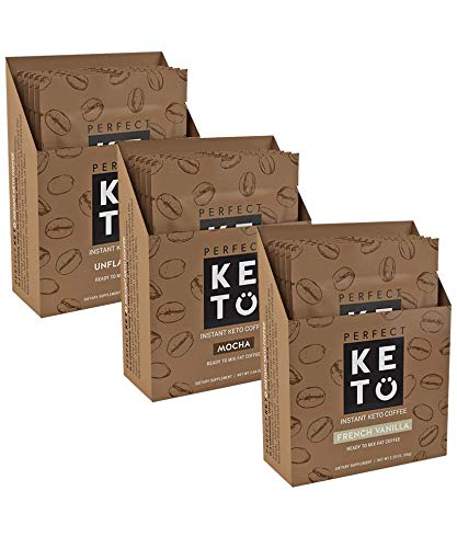 Perfect Keto Instant Coffee: Ketogenic Fat Coffee Sugar