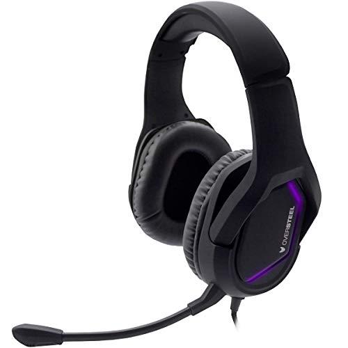 🥇 Oversteel – Auriculares gaming ZAMAK con micrófono