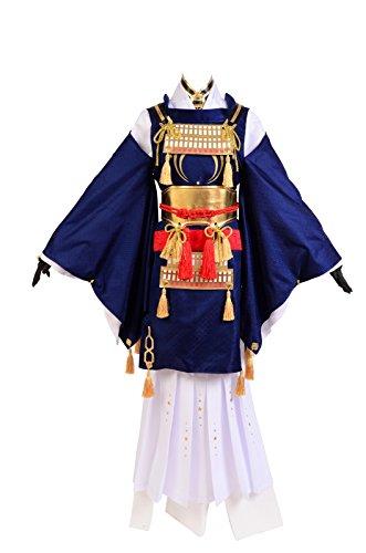 Gokotai Costume (Cosplaybar Touken Ranbu Mikazuki Munechika Cosplay Costume Female XXL)