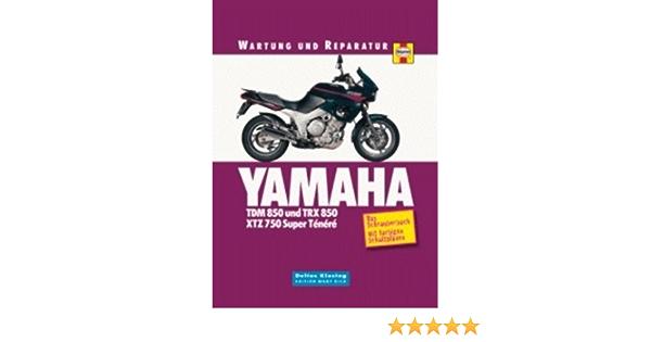 Yamaha TDM/TRX 850 & XTZ 750 Super Ténéré. Wartung und ...