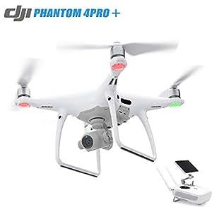 DJI Phantom 4 Pro Quadcopter Drone Camera with Battery, Charging Hub, Custom Backpack and 64GB Memory Card (CP.PT.000488) (Certified Refurbished Phantom 4 Pro Plus)