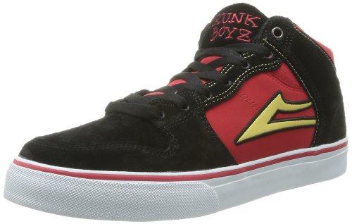 Lakai Carroll Select - Zapatos de ante para hombre Negro (Noir (Black/Red))