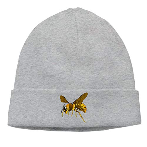 Lucy Curme Warm Comfortable Soft Cable Knitted Hat Unisex Knit Caps-Hornet