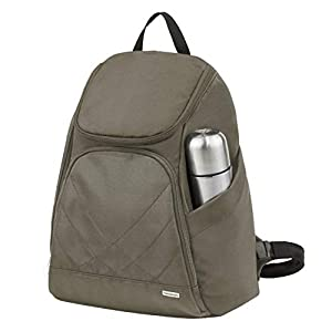 Travelon Anti Theft Classic Backpack, Nutmeg