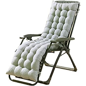 Amazon.com : Hootech Chaise Lounge Cushion Patio Chair ...