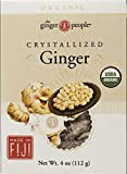 THE GINGER PEOPLE Organic Crystallized Ginger, 112g
