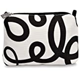 Citta Design 'Barcelona Flux' Make Up Purse, Black/White