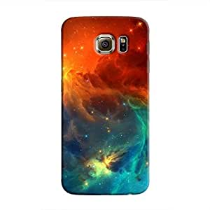 Cover It Up - Blue Vs Red space Cloud Galaxy Note 5 Hard case