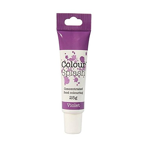 Culpitt Cake Decoration Sugarcraft Decorating Colour Splash Gel Soft Violet 25g