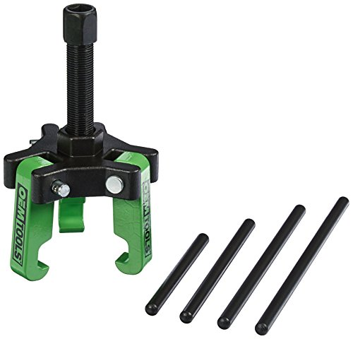 OEMTOOLS 25090 Harmonic Balancer Puller for GM, Chrysler, Cadillac, Chevy Trucks, Ford, and Mitsubishi - No Need to Remove The - Distributor Springs Ford