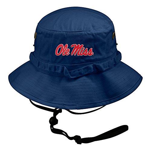 Ole Miss Rebels Bucket Hat Icon Blue