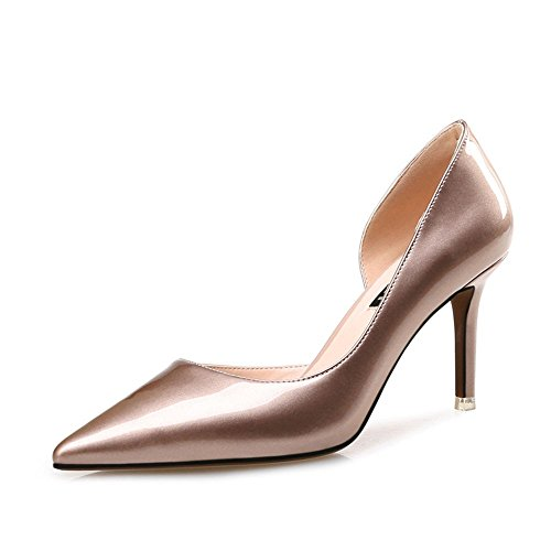 FANG Thin and Shallow Heels Shoes Shoes Sexy Women's High SDUDIO Uk6 Sharp rXxwqCr1