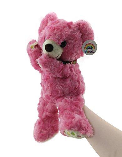 Vobell Teddy Bears Hand Puppets Plush Stuffed Animals Toys 12