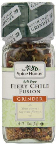 The Spice Hunter Fiery Chile Fusion Grinder, 1.5-Ounce Jar