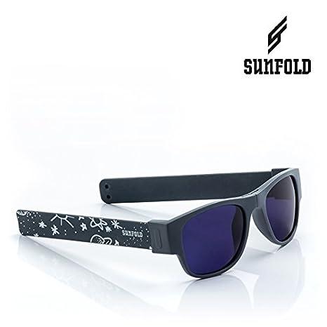 Sunfold Tribu Gafas de Sol Enrollables, Hombre, Gris Oscuro, Talla Única