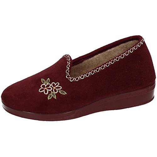 Donna Chapines Pantofole Pantofole Chapines Pantofole Bordeaux Chapines Bordeaux Donna Bordeaux Donna Pantofole Donna Chapines Bordeaux CXOWxqAw