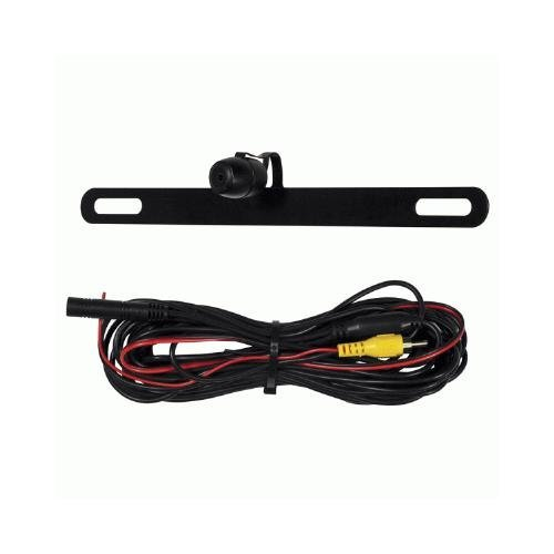 iBeam TE-BPC Universal Top of License Plate Frame Backup Camera Install Bay