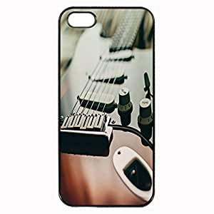 Guitar close-up Custom Image Case iphone 4 case , iphone 4S case, Diy Durable Hard Case Cover for iPhone 4 4S , High Quality Plastic Case By Argelis-sky, Black Case New