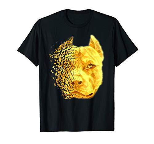 (Pit Bull Shattered Gold Designer)