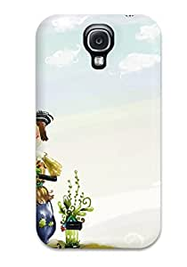 Defender Case With Nice Appearance (cute Kid Coon) For Galaxy S4