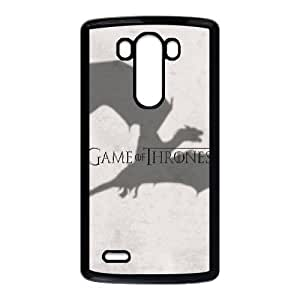 LG G3 Cell Phone Case Black_Game Of Thrones Dragon Aopmf