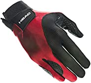 Head Leather Racquetball Glove - Web Extra Grip Breathable Glove for Right & Left