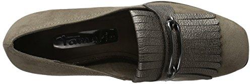 Tamaris 24322, Zapatos de Tacón para Mujer, 41 EU Marrón (Pepper/Pewter 921)