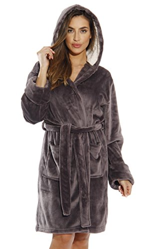 (Just Love 6364-NIC-M Kimono Robe/Bath Robes for Women)