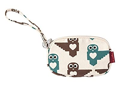 Bungalow 360 Clutch with Strap (Owl)