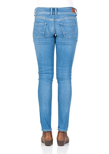 Pepe Jeans London Damen Jeans Vera 45YRS - Regular Fit - Blau - Light Blue Denim, Größe:W 30 L 34, Farbe:Light Blue Denim (000)