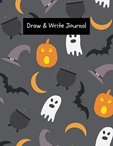 (Draw & Write Journal: Halloween Theme Create Your Own Story for Kids ~ Draw It Yourself Blank Journal, Young Artist Large Composition)