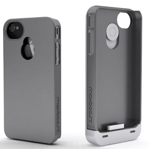reputable site c386f 5a9b4 Maxboost Hybrid iPhone 4S Battery Case / iPhone 4 Battery Case ...