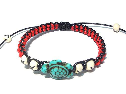 t - Hawaiian Sea Turtle Bracelet (Ecolution Hemp Fabric)