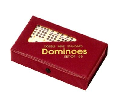 Double Nine Dominoes (CHH Imports Double Nine Dominoes In Vinyl Case)