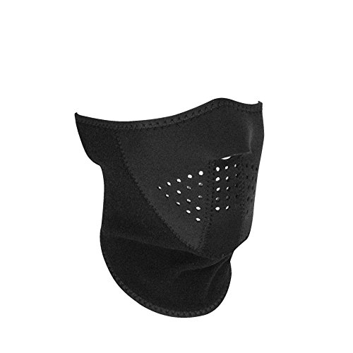 Zan Headgear WNFM114H3F, 3 Panel Half Mask, Fleece Neck Section