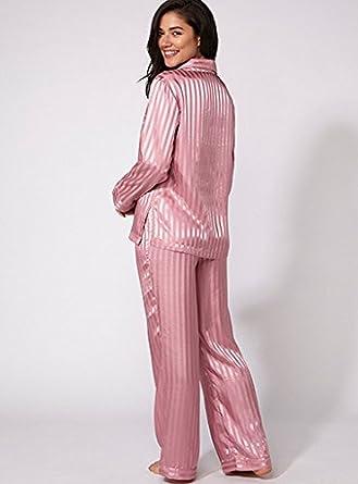 BouxAvenue Women s Vivian Satin Pyjamas UK 08 Pink Mix  Boux Avenue ... 59351196f