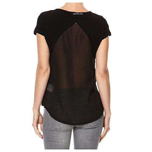 KAPORAL-Camiseta de manga corta para mujer, diseño de BRIAN negro Small