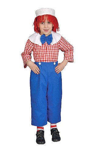 Dress up America Deluxe Rag Boy Costume Set (M) by Dress Up America