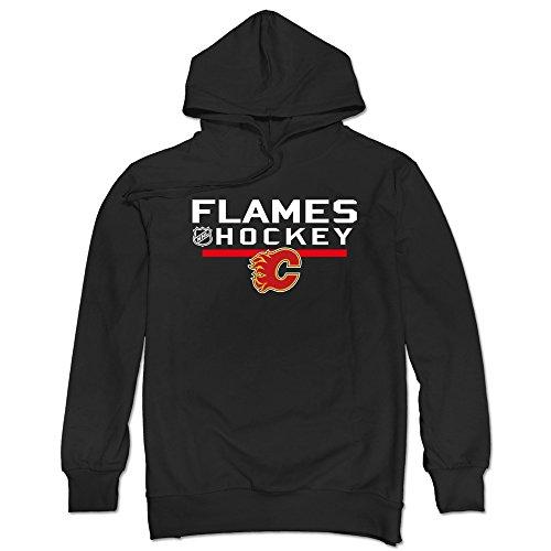 JUST Men's 2016 Calgary Flames Locker Room Hoodies - Davidson Harley Grills