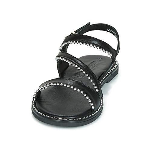 black Cinturino Nero 22 1 1 Sandali 28123 Alla Donna Tamaris Con Caviglia 1 qYPYp