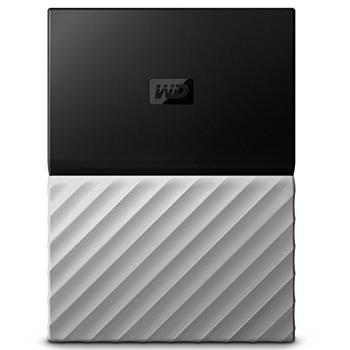 WD 1TB My Passport Ultra Portable External Hard Drive - USB 3.0 - Black-Gray - WDBTLG0010BGY-WESN