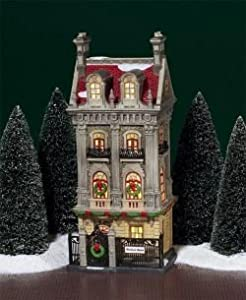 Amazon.com: Department 56 Christmas in the City Harrison House ...