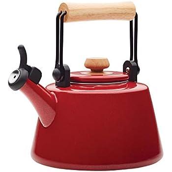 Amazon.com: Le Creuset Demi tetera, Demi Kettle, Cherry Red ...