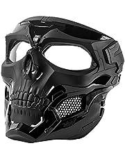OneTigris Skull Messenger Gezichtsmasker, airsoft masker, compatibel met Softair Paintball CS