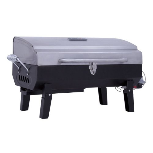 Char-Broil Stainless Steel Portable Gas Grill (Charbroil Tabletop Grill compare prices)
